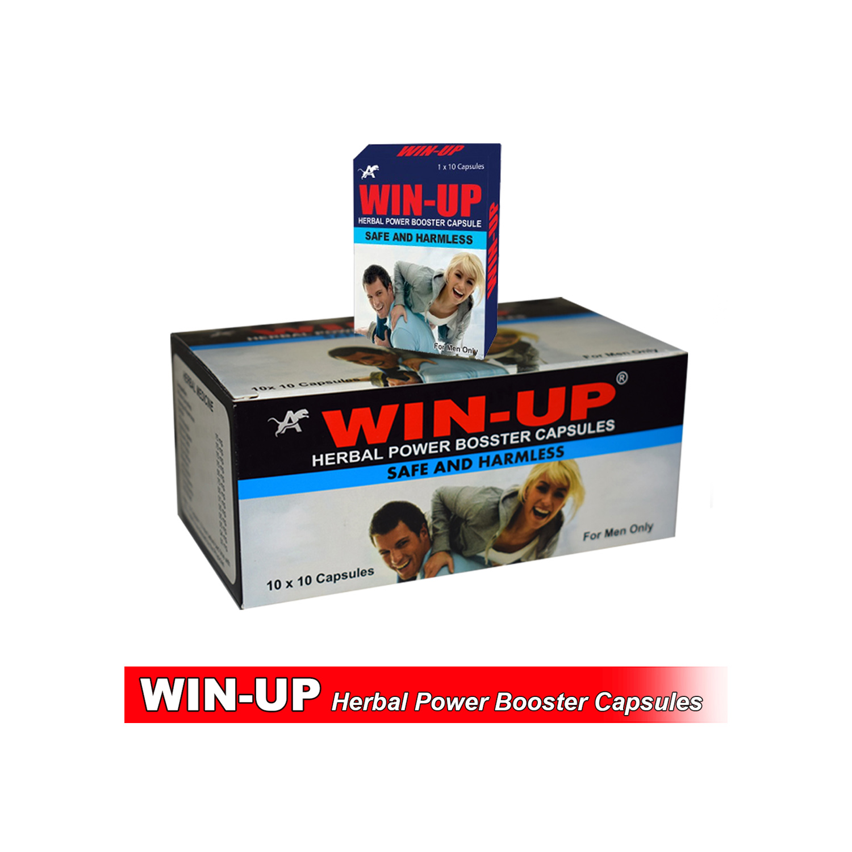 Win Up Herbal Power Booster Capsule